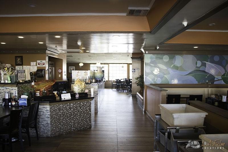 Blue Orchid Restaurant La Film Locations